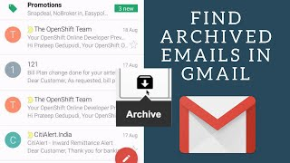 How to Find Archived Mails on Gmail app