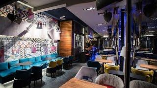 Bel Air Lounge Cafe Nikakis interior designer