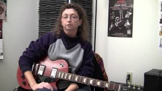 Guitar lessons with Rachel Gentile