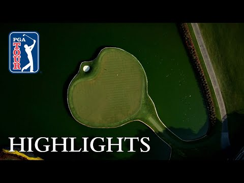TPC Sawgrass No. 17 highlights from Round 2 of THE PLAYERS