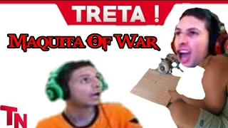 MAQUITA OF WAR! (RAGES DO CARECA PARTE 4)