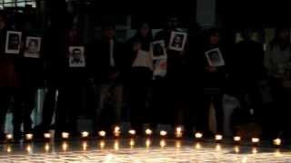 Conmemoración Detenidos Desaparecidos en Dictadura - EL DERECHO DE VIVIR - Víctor Jara Cover,