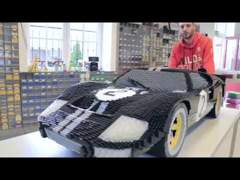 LEGO Ford GT at Le Mans 24 hours