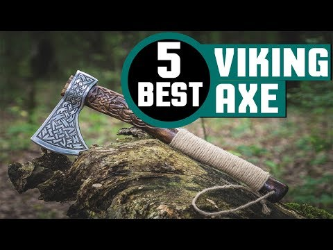 Download thumbnail for ✅ Viking Axe: Cold Steel Viking Axe