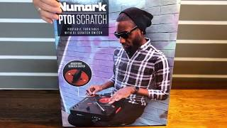 Numark PT01 Scratch - The Worst Unboxing Video - The Best Portable Turntable