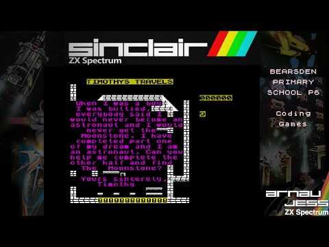 Bearsden Primary School P6 Coding Games (Zx Spectrum)