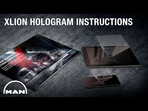 MAN | XLION Prism Hologram Instructions