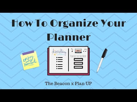 PlanUP is a club on campus that helps students organize their busy schedules by taking time to prep their planners. The Beacon and Plan UP collaborated to give students 5 tips to organize their planners for the school year. Stop Motion by: Erica Lavik & Molly Lowney.