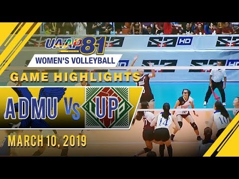UAAP 81 WV: ADMU vs. UP | Game Highlights | March 10, 2019