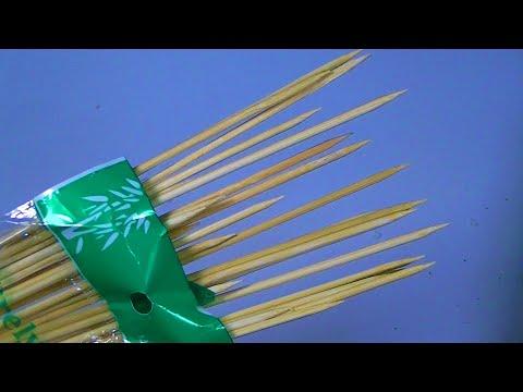Что можно сделать из бамбуковых палочек для КАНАПЕ? photo