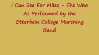 I Can See For Miles - Otterbein College Marching Band