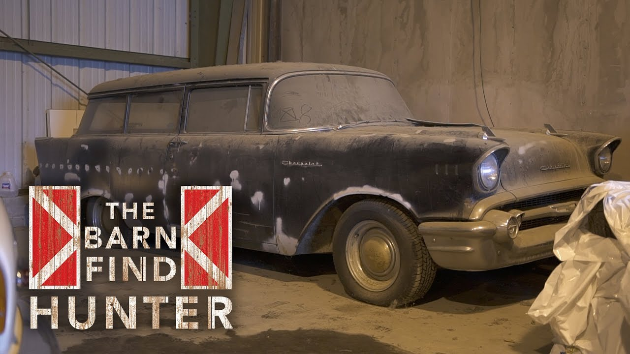 We find treasure in Alaska with barn-find '47 Mercury truck, rare '57 Chevy, and Boss 302