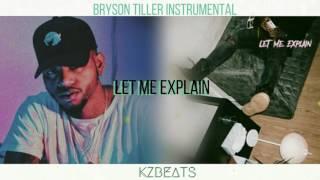 Bryson Tiller - Let Me Explain [Instrumental Remake]  // Prod. KVNG Zuzi