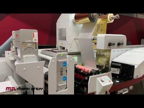 Inline Hologram Application - Mark Andy Digital Series HD Label Press Benefits