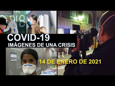 Covid-19 Imágenes de una crisis en el mundo. 14 de enero