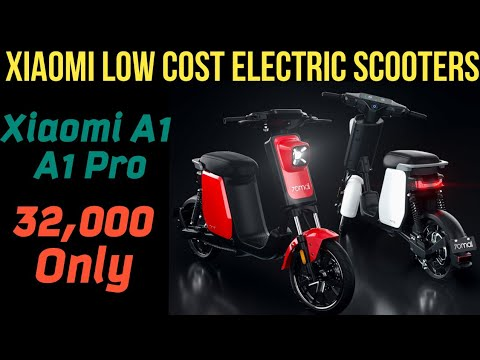Xiaomi Electric Scooters - Xiaomi A1 & A1 Pro Electric Moped