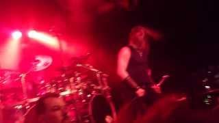 Amon Amarth - Guardians of Asgaard - live Sydney Factory Theatre 26 Feb 2014