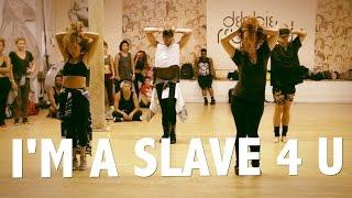 """Britney Spears """"I'm A Slave 4 U"""" Choreography by @BrianFriedman & Wade Robson"""