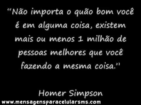 Frases Engraçadas do Homer Simpsons