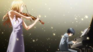 Shigatsu wa Kimi no Uso - Tributo - Hikaru Nara - (Piano VS Vi...