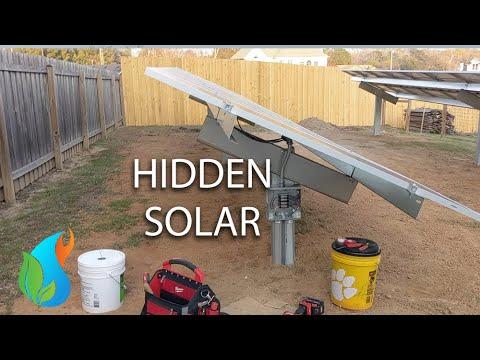 Hidden Ballasted Solar
