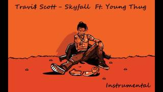 Travis Scott - Skyfall ft.  Young Thug Instrumental (Snippet)