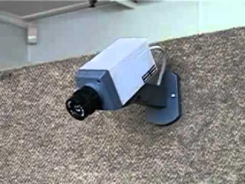 FırsatCity Hareket Sensörlü Caydırıcı Sahte Kamera