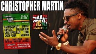 Christopher Martin - Vibe Is Right @Reggae Geel 2015