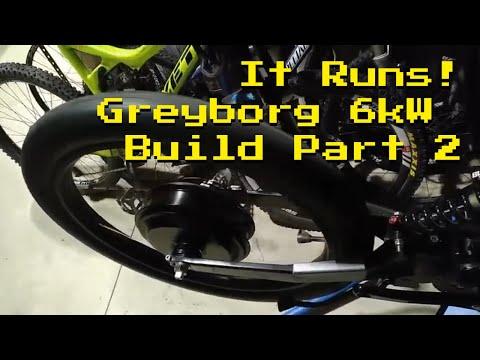 Greyborg Build Part 2 - Motor Running!