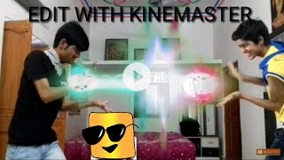 How to make SUPER POWER EFFECT in kinemaster