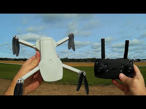 Eachine EX5 229 grams Brushless GPS 4K Camera Drone Flight Test Review