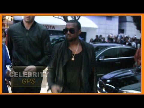 Kanye West hospitalized in LA - Hollywood TV