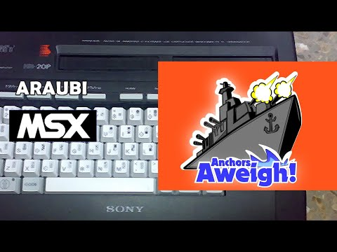 Anchors Aweigh (Manuel Martinez, 2020) MSX [754] Walkthrough Comentado