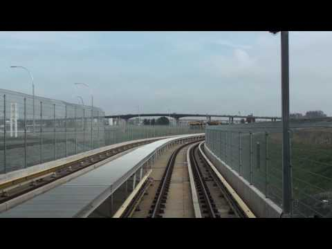 Vancouver Skytrain Timelapse (Canada Line)