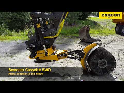 engcon SWD - Detachable Cable Sweeper