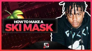 How To Make A Ski Mask The Slump God Type Beat On FL Studio 2019 | How To Create Using Fruity Loops