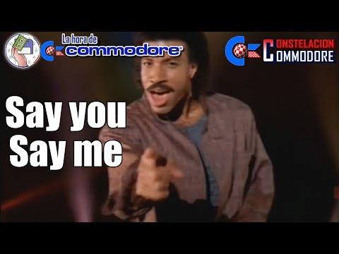 La Hora de Commodore #0014 - Say You Say Me - Hablando de Remakes