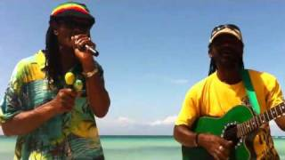 get up stand up - freestyle negril beach - howie blendah - 2011