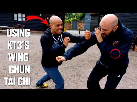 How to block a punch |USING  KT3'S WING CHUN   TAI CHI   SELF DEFENCE New Series