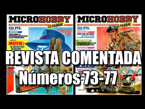 MICROHOBBY COMENTADA 73 77