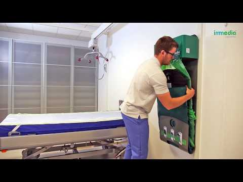 Learn how to apply the Disposable Cover on Immedia 2Move - horizontal manual transfer