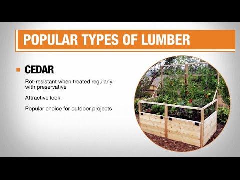Types of Lumber