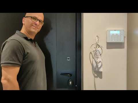 מערכת נעילה אוטומטית אוטונומית בדלת כניסה