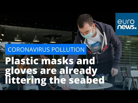 Coronavirus pollution: Plastic masks and gloves are already littering the seabed, campaigners warn