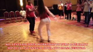 Evan & Bethany's All Level Bachata Workshop @ ICSF 2014