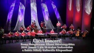 Újévi koncert- Roma Hungaricum Állami Művészegyüttes Szekszárdon