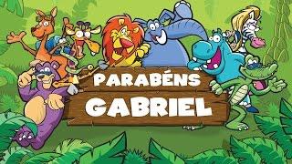 Um Bong'aniversário - Parabéns Gabriel!