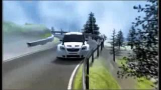 robert Kubica crash in Andora rally.flv