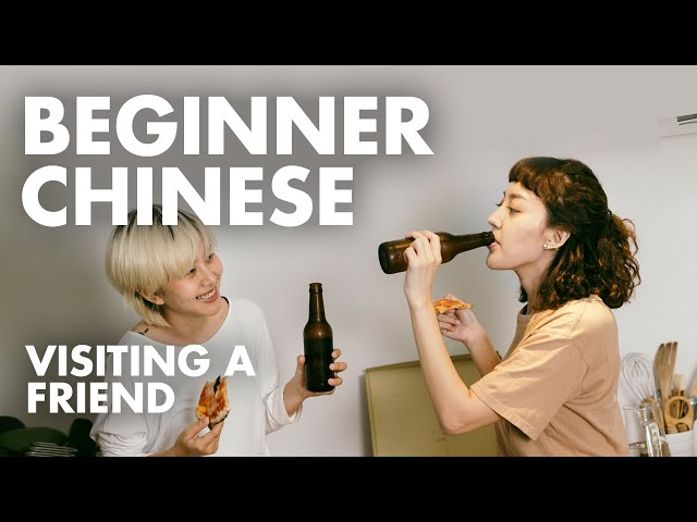 Learn Chinese Conversation for Beginners: Language Practice to Study with English Subtitles A10
