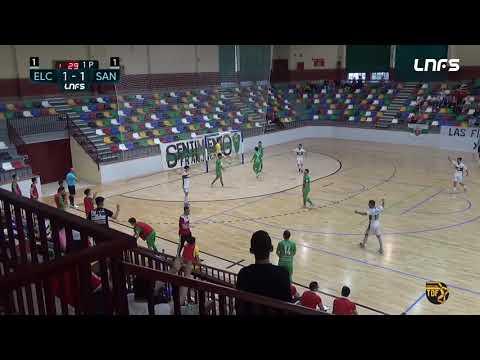 Elche - JERUBEX Santiago Futsal El Hidalgo Jornada 9 Grupo D Segunda División Temp 20 21